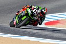 World Superbike Laguna Seca WSBK: Sykes leads Ducatis in red-flagged race, Rea retires