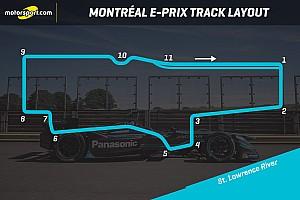 Formula E Breaking news Track layout revealed for Montreal Formula E race
