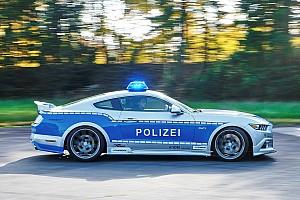 Auto Actualités Une Ford Mustang tunée pour la police allemande