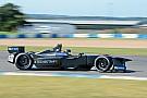 Formula E Vergne breaks lap record to top second Formula E test day