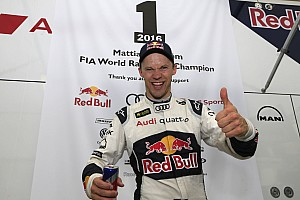 World Rallycross Breaking news Ekstrom: Missing DTM meant title pressure was on
