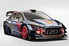 WRC Hyundai представила новую машину для WRC