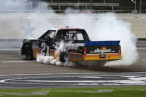 NASCAR Truck Preview Can Johnny Sauter pull off the hat trick in the Round of 6?
