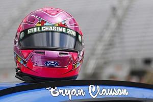 NASCAR Sprint Cup Breaking news Stenhouse and Larson honoring Bryan Clauson at Bristol