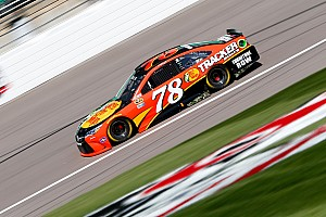 NASCAR Sprint Cup Practice report Toyota leads the charge in Kansas final practice