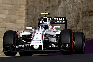 Formula 1 Race report Bottas finished sixth and Massa 10th in the European GP