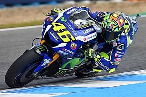 MotoGP Practice report Jerez MotoGP: Rossi denies Marquez by 0.046s in third practice