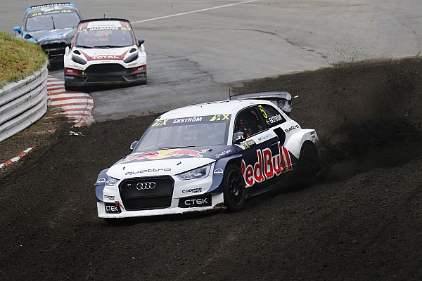 World Rallycross Leg report Germany WRX: Ekstrom inches closer to title after topping Day 1