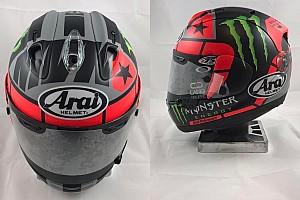 MotoGP Ultime notizie Vinales cambia il casco per il suo primo anno da pilota ufficiale Yamaha