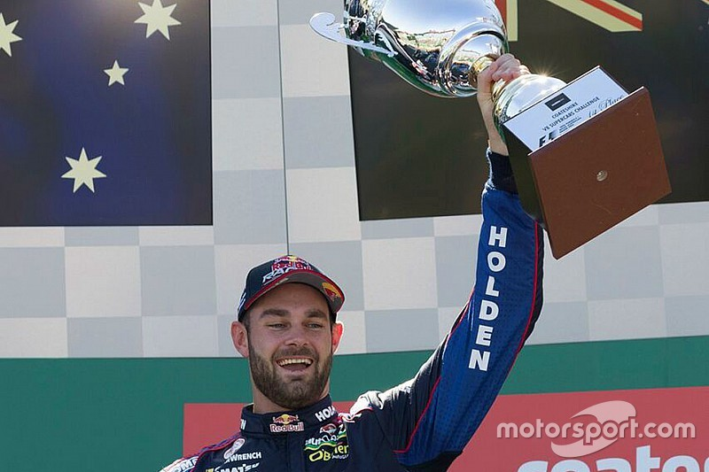 Albert Park V8s: Van Gisbergen holds of Coulthard in finale