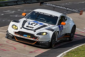 Endurance Qualifying report Aston Martin takes top eight slot for Nürburgring 24 Hours start