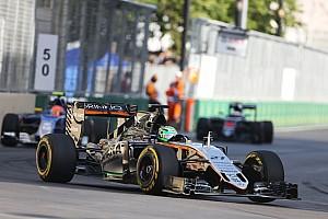 Formula 1 Race report Sergio Perez picked a second podium finish of the season at Baku