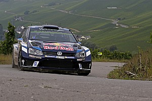 WRC Leg report Germany WRC: Ogier takes the lead as crash halts rally