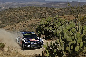 WRC Leg report Mexico WRC: Latvala goes a minute clear of Ogier