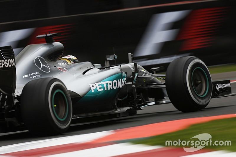 Formel 1 in Mexico City: Hamilton beim Auftakt knapp vor Vettel