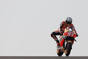 MotoGP Practice report Aragon MotoGP: Marquez leads Rossi in first practice