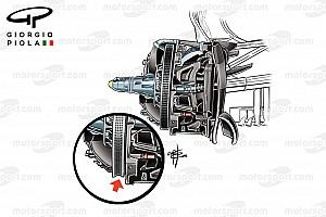 Formula 1 Analysis Tech analysis: Mercedes pushes boundaries with 'scallop' brake disc