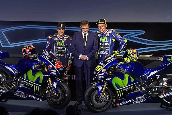 MotoGP Breaking news Yamaha resmi merilis YZR-M1 2017