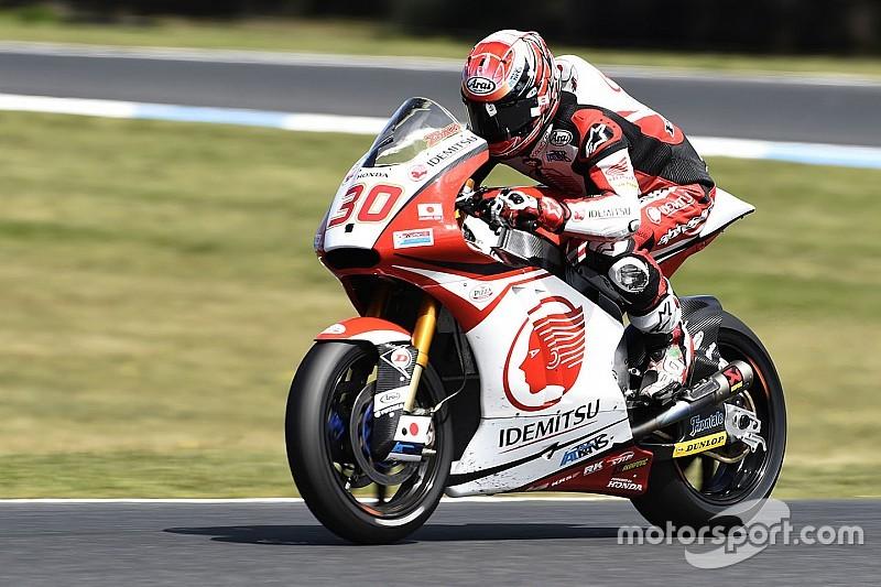 Moto2マレーシアFP2:中上が僅差の2番手タイムを記録。トップはモルビデリ