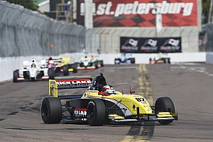 Pro Mazda Race report Telitz strikes back with race two victory at St Pete