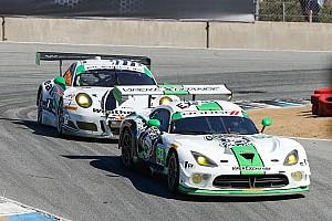 IMSA Race report Perfect pit stop propels No. 33 Dodge Viper GT3-R to sixth-place finish at Laguna Seca