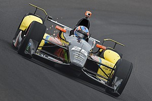 """IndyCar Special feature Stefan Wilson: """"An amazing feeling at Indy"""""""