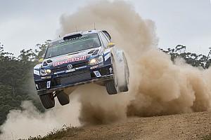 WRC Leg report Australia WRC: Mikkelsen leads after opening loop