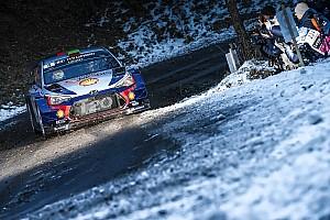 WRC 速報ニュース 【WRC】ラリーモンテカルロ、ヒュンダイ横転でSS1はキャンセル