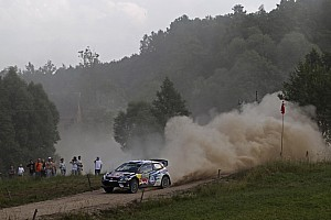 WRC Leg report Poland WRC: Mikkelsen inherits win after late heartbreak for Tanak