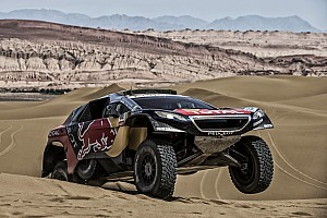 Cross-Country Rally Breaking news Loeb's Silk Way Rally hopes dashed by four-hour penalty