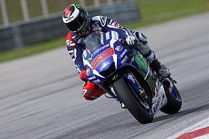 MotoGP Testing report Lorenzo tops rain-hit final day of Sepang MotoGP test