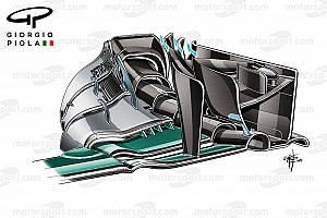 Formula 1 Analysis Technical analysis: First lap crash hid potential of Mercedes revamp