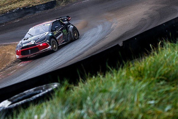 World Rallycross Leg report Germany WRX: Solberg takes lead as qualifying ends