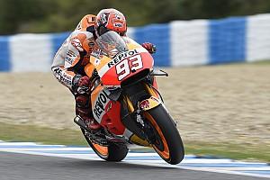 MotoGP Race report Positive podium for Marquez at Jerez, fourth place for Pedrosa