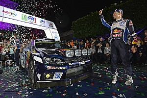 WRC Leg report Mexico WRC: Sordo and Ogier share the glory in Saturday sprint stages