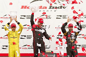IndyCar Race report Power wins Toronto, Hinchcliffe scores big at home