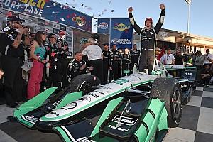 IndyCar レースレポート インディカー最終戦ソノマ決勝:パジェノー完勝。今季を象徴する走りで初王者に輝く