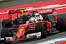"Formula 1 Vettel: Ferrari ""not here to finish fifth and sixth"""