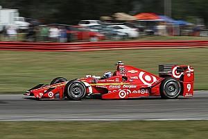 IndyCar Practice report Dixon tops first practice at Watkins Glen, Daly crashes