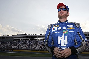 NASCAR Sprint Cup Breaking news Earnhardt says his mind