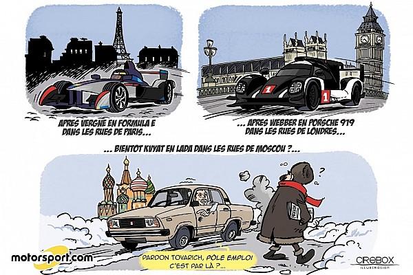 Formule 1 Contenu spécial L'humeur de Cirebox - L'avenir tout tracé de Kvyat