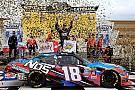 NASCAR XFINITY Kyle Busch wins hectic Xfinity race at Kansas