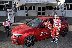 MotoGP Noticias de última hora El SEAT León Cupra de 300CV, coche oficial de Ducati en MotoGP