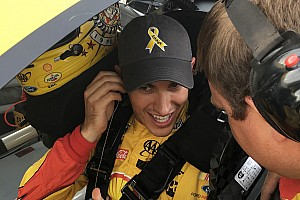 NASCAR Sprint Cup Special feature Cancer sufferer checks off bucket list item, thanks to Joey Logano