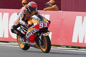 MotoGP Practice report Argentina MotoGP: Marquez crashes but still tops third practice