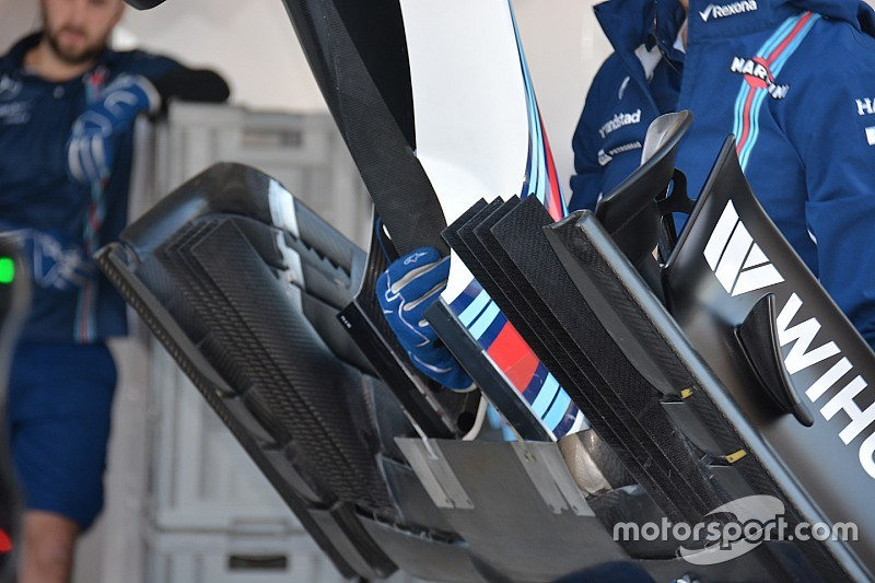 Bite-size tech: Williams FW38 new front wing