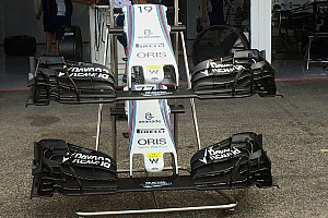 Formula 1 Analysis Bite-size tech: Williams FW38 front wing