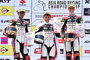 Other bike Race report Buriram ARRC: Krishnan scores maiden podium in Asia Dream Cup
