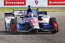 Sato quickest in warm-up as Servia subs for Power