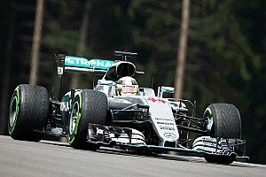 Formula 1 Qualifying report Silver Arrows deliver as rain provides tense qualifying session